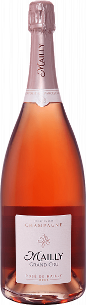 Mailly Grand Cru Rose de Mailly Brut Champagne AOC, 1.5л